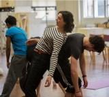 Cymbeline in rehearsals