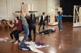 The Company in rehearsal for Cymbeline2. Photo by Ellie Kurttz - (C) RSC