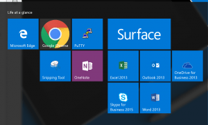 Surface app icon