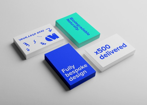 The stand alone Business Card design and delivery package by Oliver Milburn.