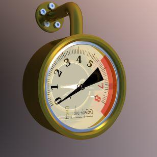 Manometer YafaRay 4000 x 4000 10h pathtr 256