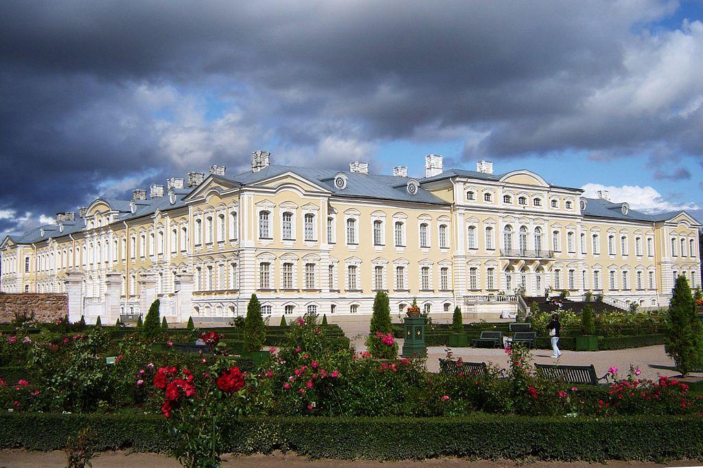 Rundāle slott Latvia