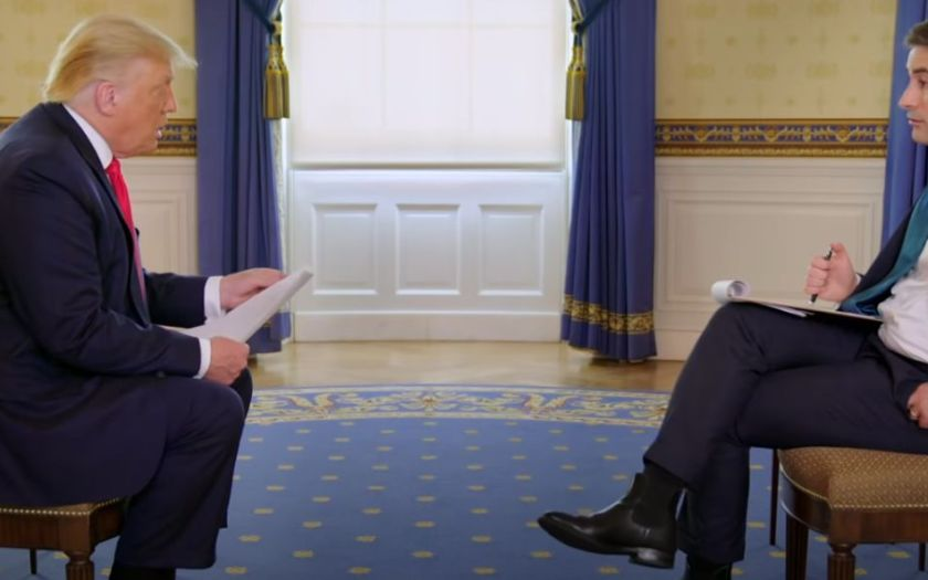 Donald Trump Interviewed by Jonathan Swan of Axios