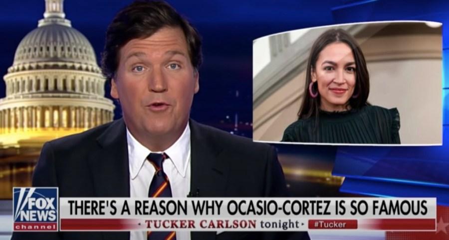 Tucker Carlson Attacks AOC