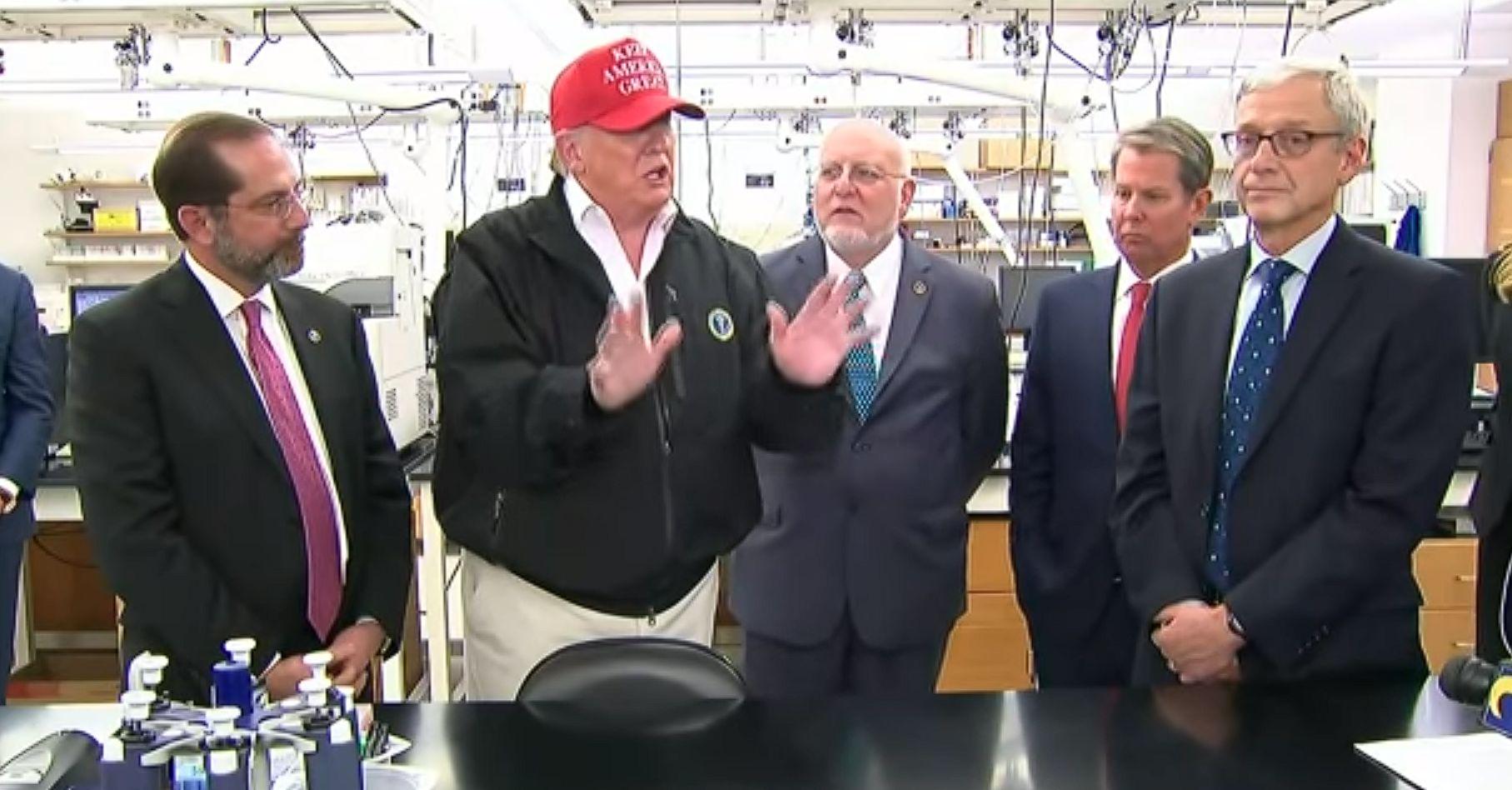 Donald Trump on COVID-19