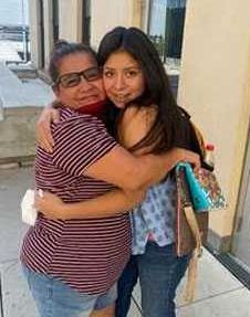 Jacqueline Hernandez and Angelica Vences-Salgado