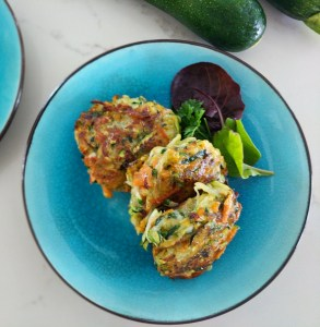 authentic greek zucchini fritters