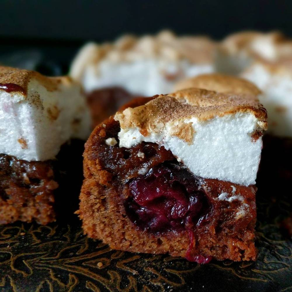 Smore's Cherry and Cherry Brownie