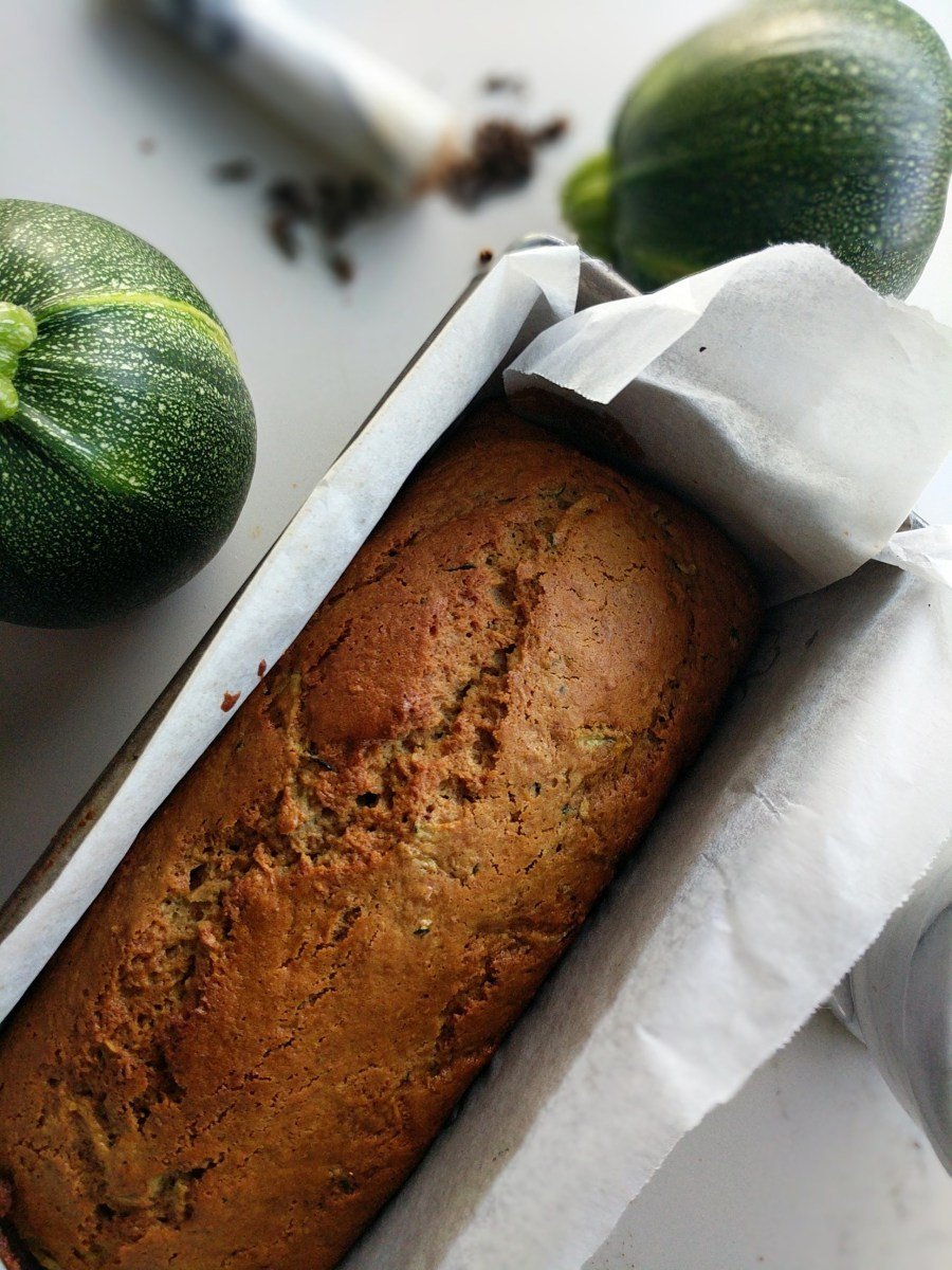 Zucchini Bread | cinnamon cloves honey and olive oil