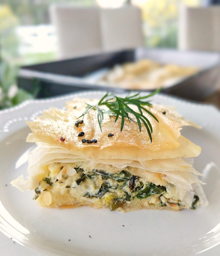 Spanakopita Recipe for Beginners | a healthy recipe big on Flavour