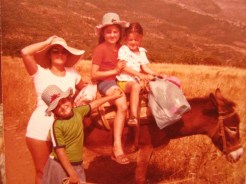 Growing up in a small village - early years
