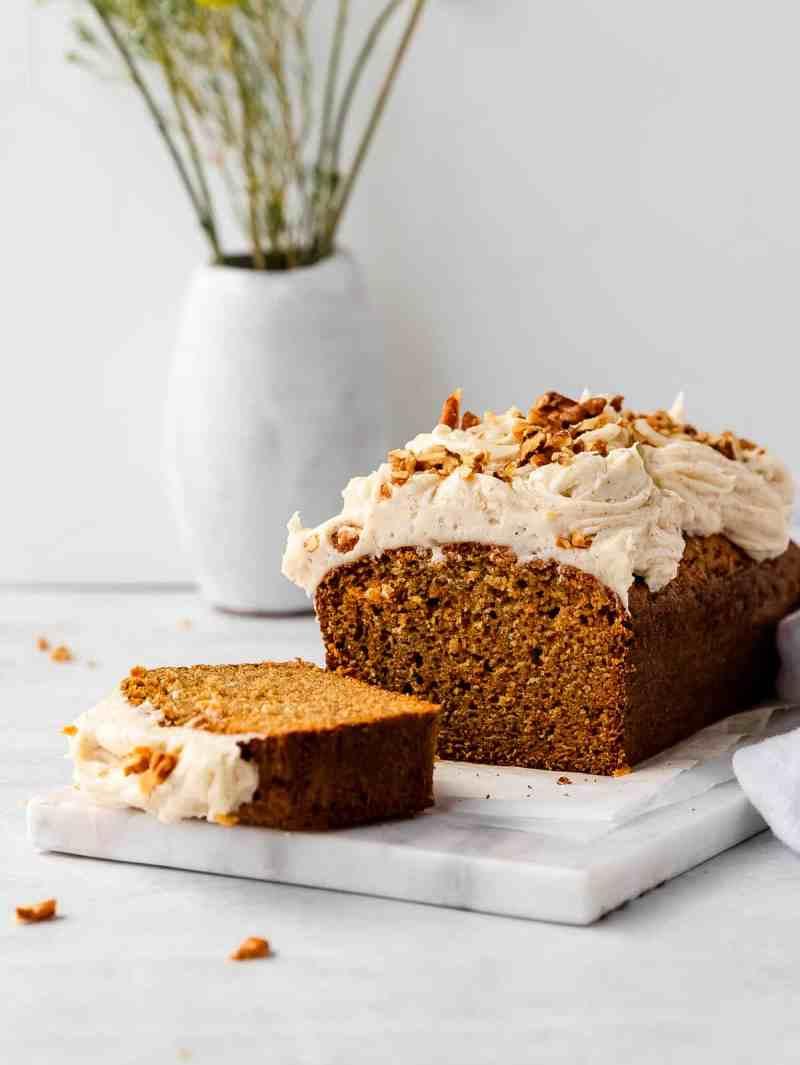 carrot loaf cake