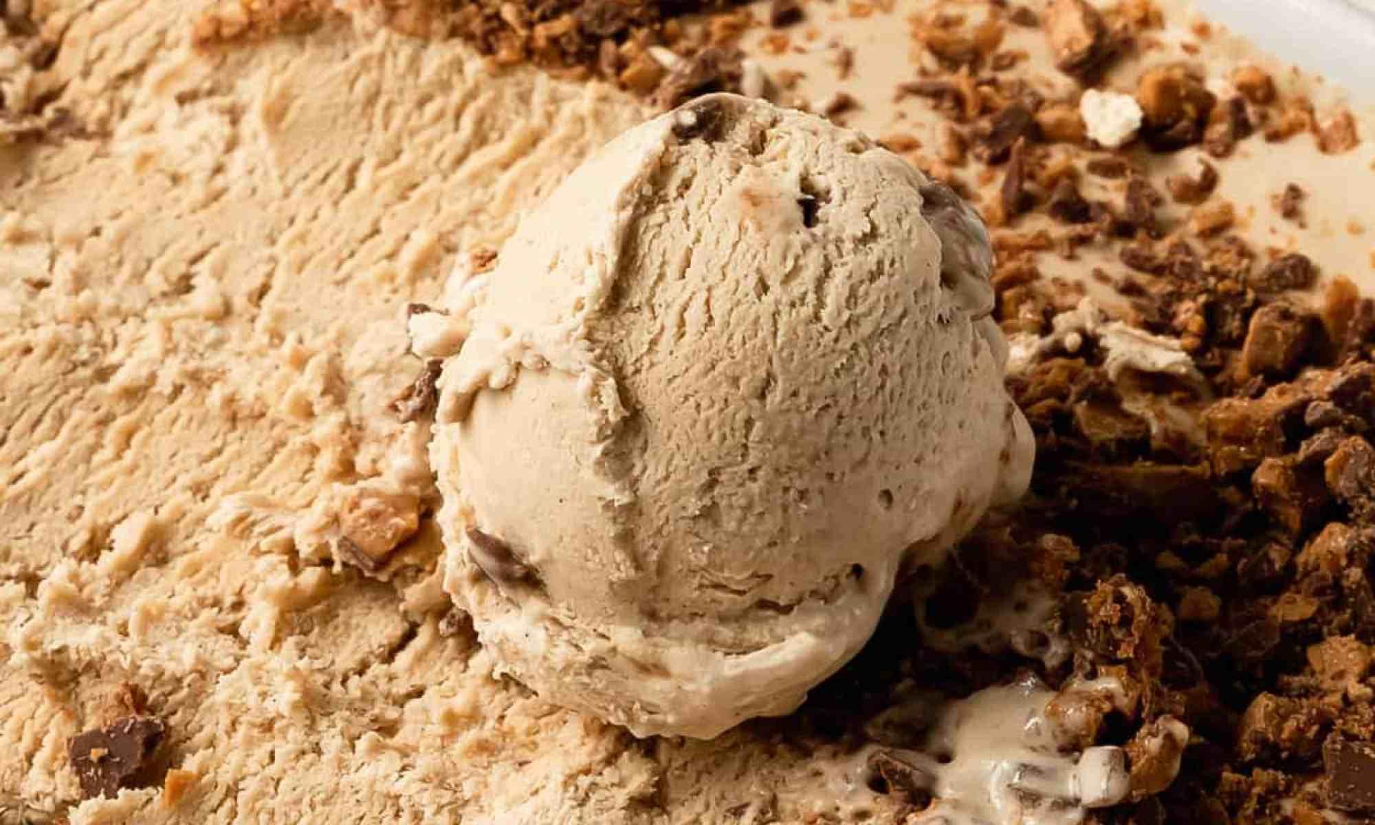 Guiness toffee ice cream