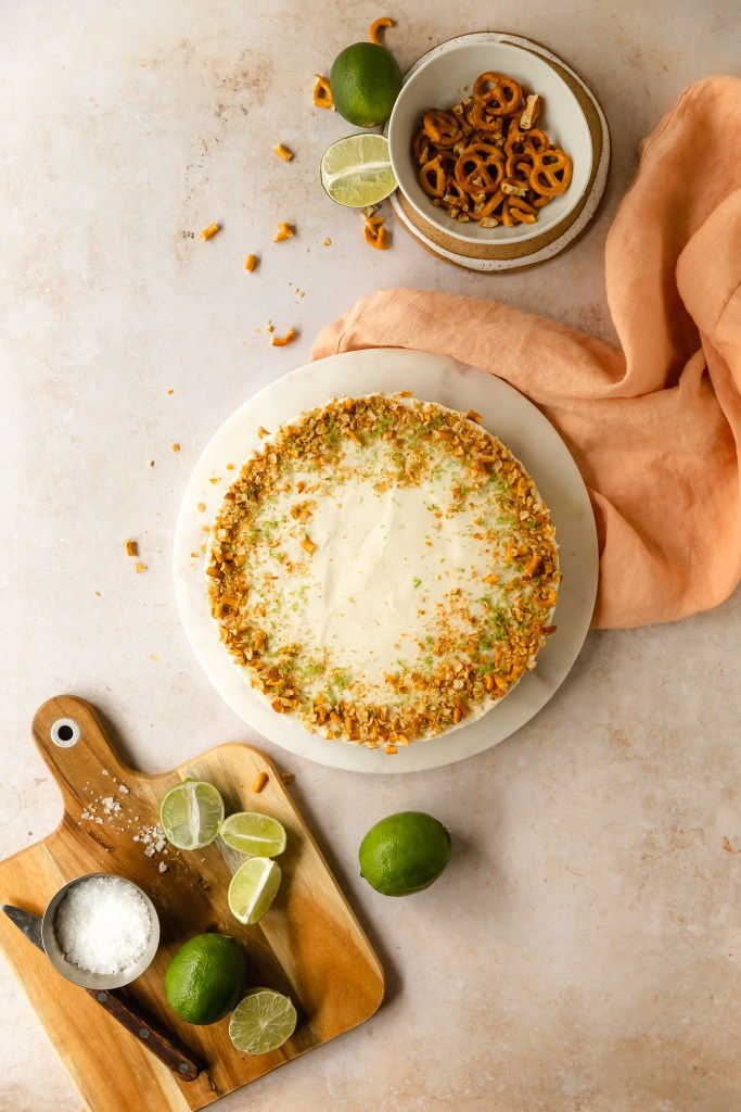 no bake margarita pie