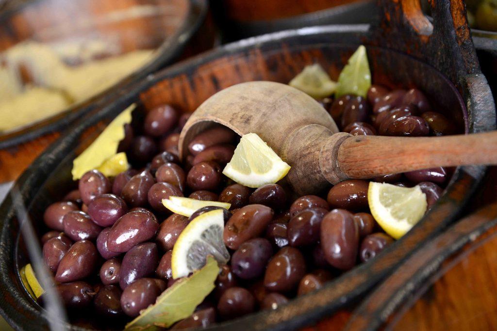 kalamata olives with lemon