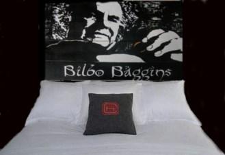 Up-Cycled Pallet Wood Art - Bilbo Baggins