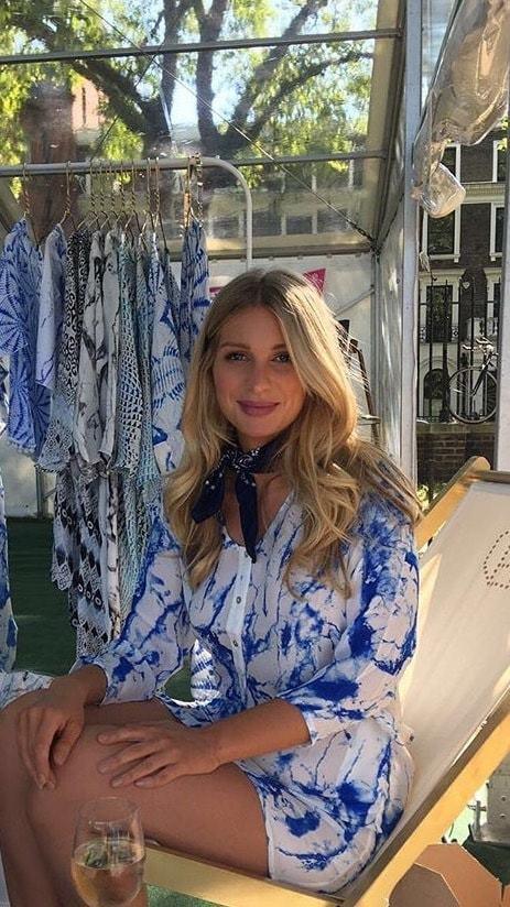 Olivia NY wearing Octavia Hix