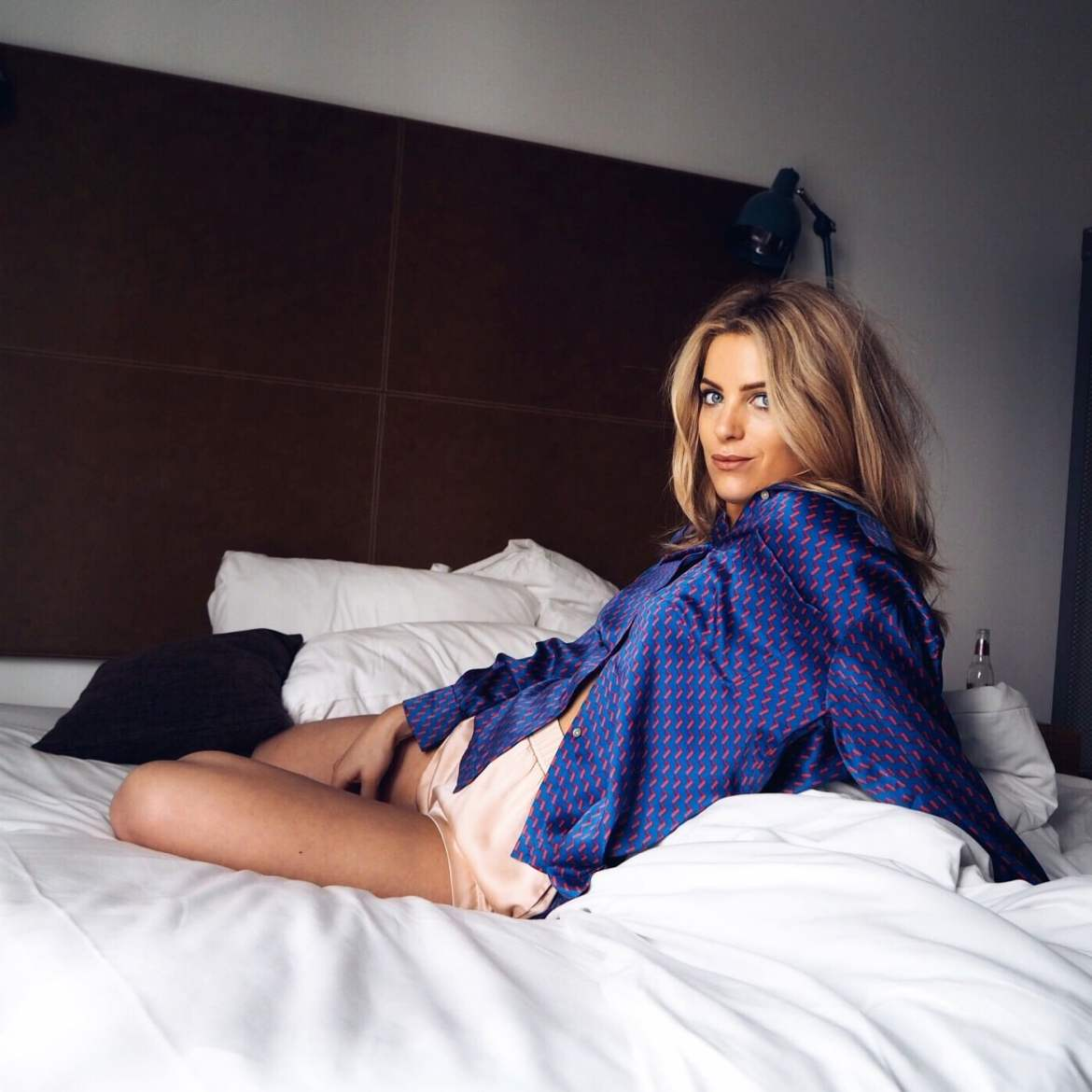 Olivia Cox, Staycation, London, Travel, Travel Blogger, Where to stay, home from home, second home, tv presenter, blonde, bed head
