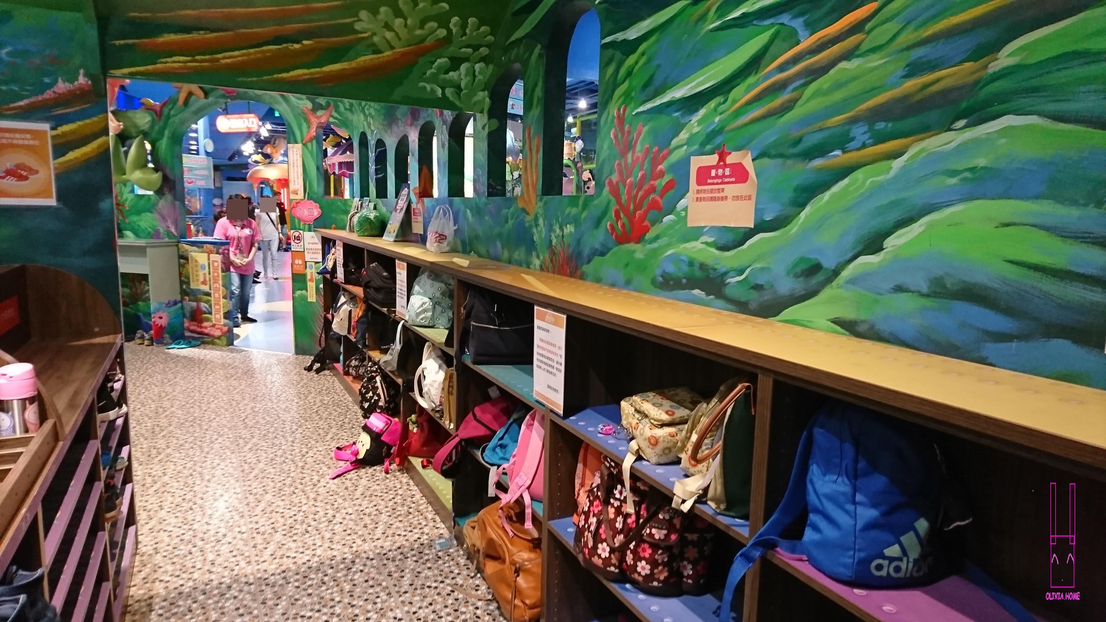【親子館系列】臺北京華城-騎士堡小美人魚的家之玩樂心得 – Olivia.home
