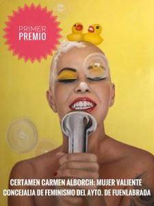 """""""Actitud"""" Primer Premio Certamen Carmen Alborch - Ayuntamiento Fuenlabrada"""