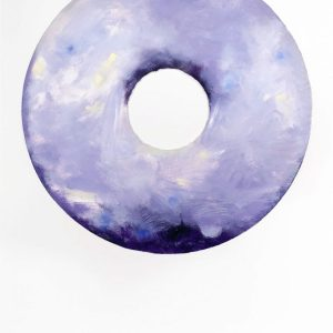 jann-haworth-lavender-scented-english-toffee-glaze-donut