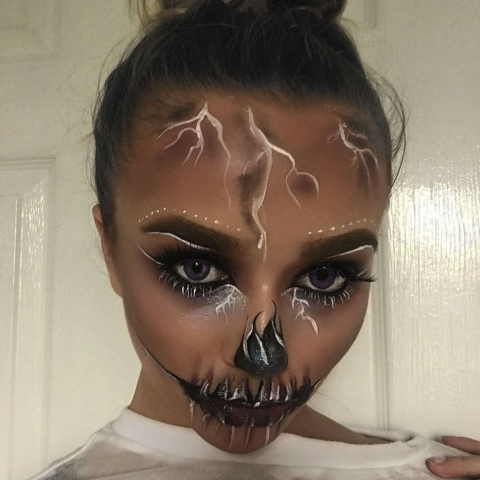 My FIRST YouTube Halloween Tutorial