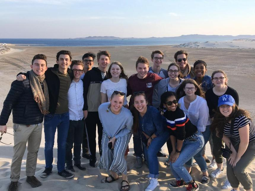 Lancaster Country Day School (LCDS) Model United Nations (MUN) Qatar Sand Desert 2