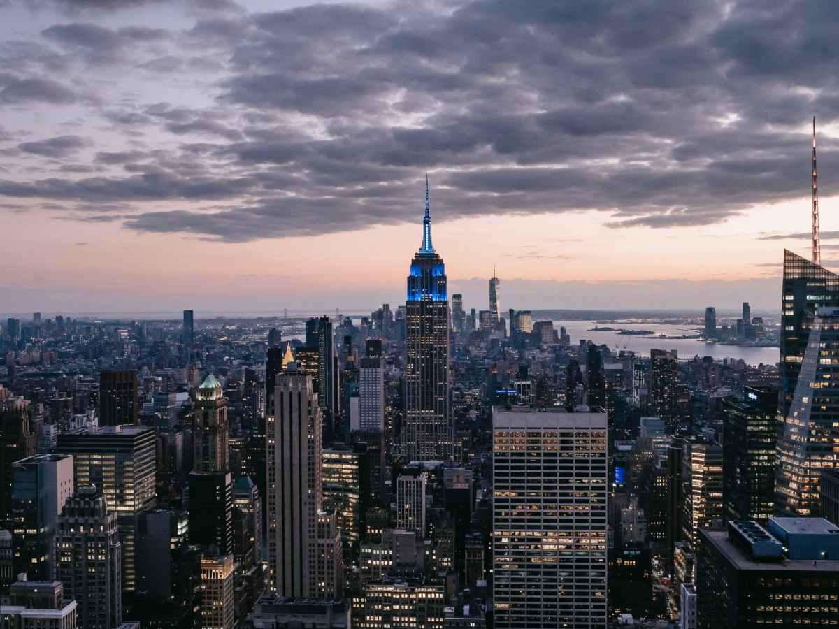 View of 30 Rock deck in New York City Deloitte