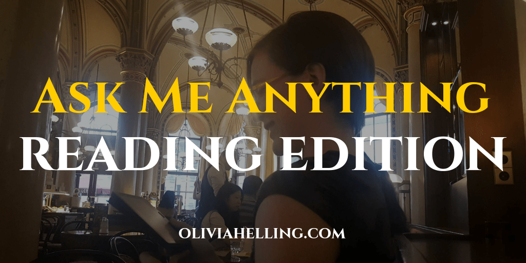 Ask Me Anything: Reading Edition!