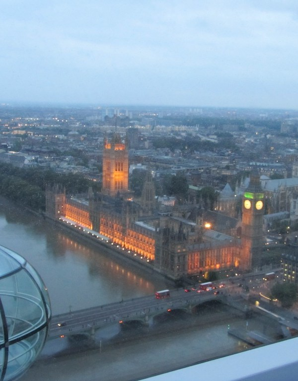 First Look at the London Eye