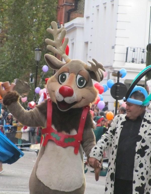 The Harrods Christmas Parade