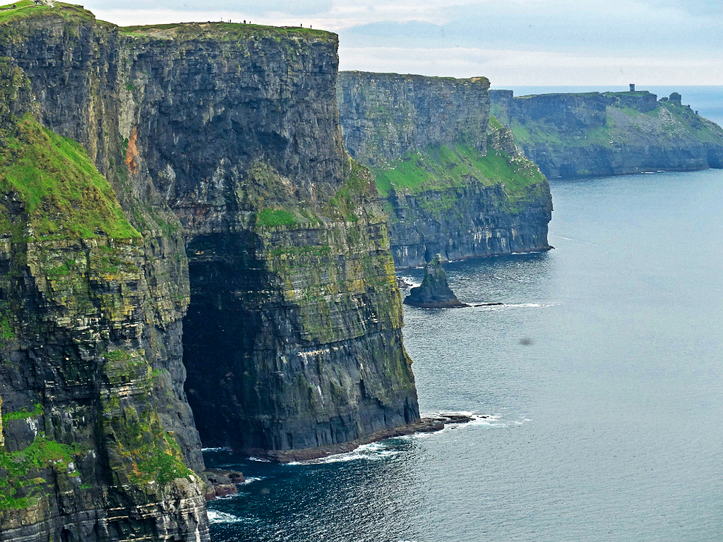 Olivia Leaves   Cliffs of Moher