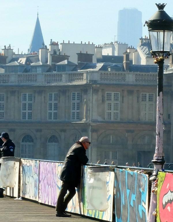 The New Look of Paris' Famous Pont des Arts