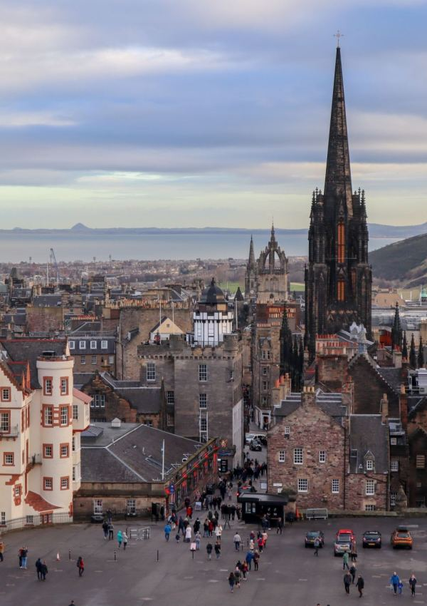 The Best Views in Edinburgh, Scotland