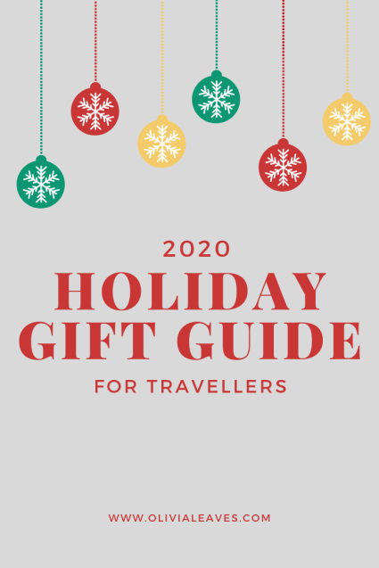 Olivia Leaves | 2020 Holiday Gift Guide for Travellers