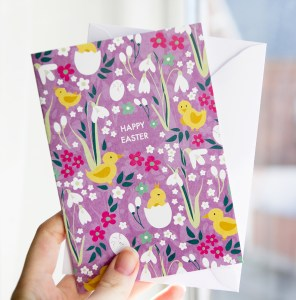 Easter Cards, greeting cards, illustrated by Olivia Linn