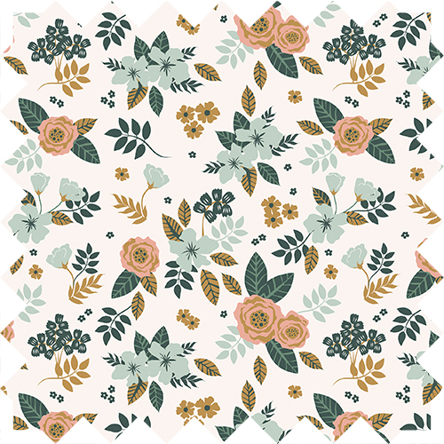 christmas roses, patter repeat, design by Olivia linn