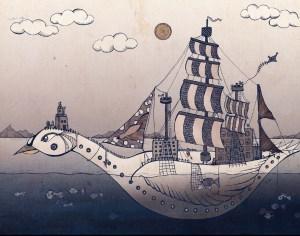 magical children's illustration by Olivia Linn