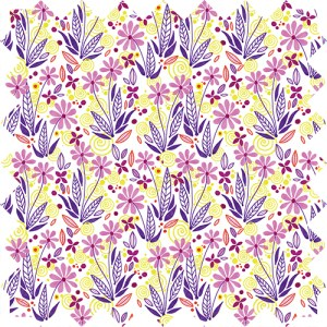 children's floral collection textiles, Design by Olivia Linn