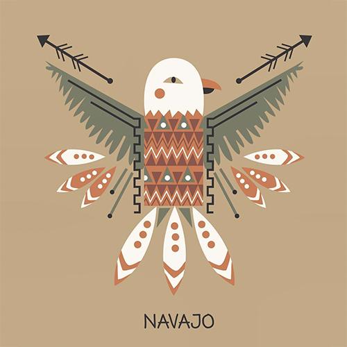 Tribal surface design, illustration by Olivia Linn