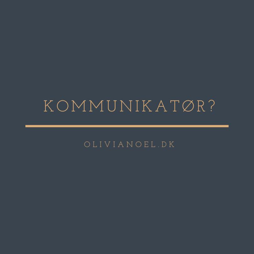 Jeg er ikke en kommunikatør