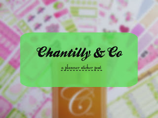 Planner Junkie ~ Chantilly & Co
