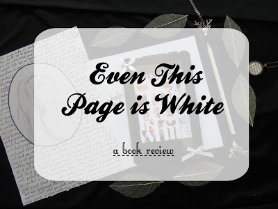 Even This Page is White [Poetry Collection Review]