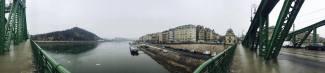 The Danube from Liberty Bridge