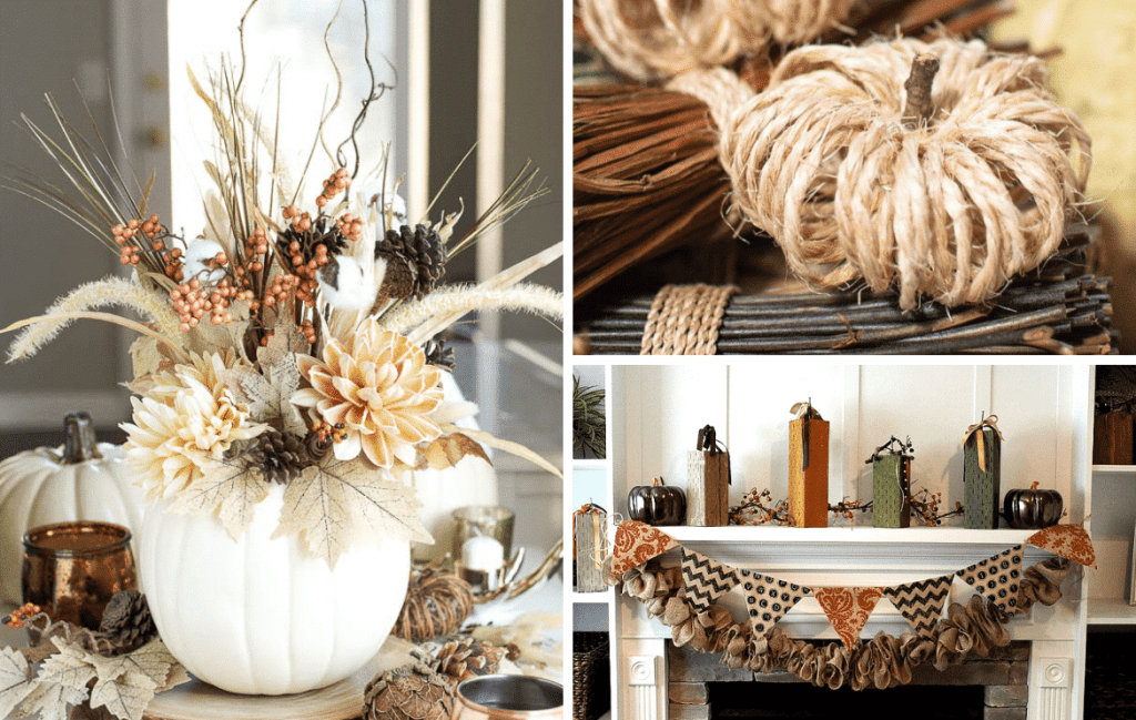10 Easy Fall Decor Crafts For People Who Aren't Crafty