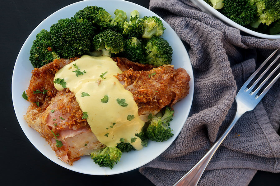 Easy Keto Chicken Cordon Bleu