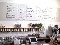 Filament Coffee + Tea sells coffee, teas and pastries to locals and visitors. Photo by Christina Casillo