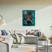 Exposition Avril 2020 Olivier art abstrait vous présente des tableaux muraux abstrait pour votre décoration d'intérieur