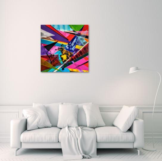 Encrypt Olivier art abstrait vous présente des tableaux muraux abstrait pour votre décoration d'intérieur