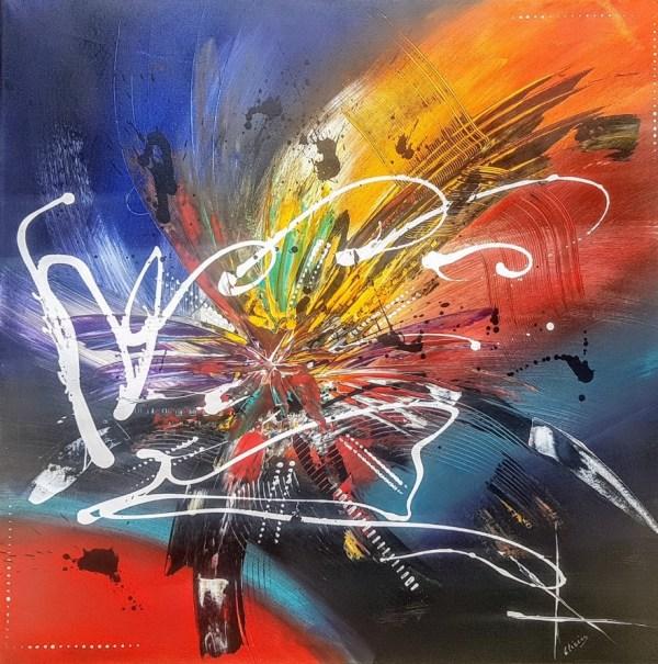 Hygie Olivier art abstrait vous présente des tableaux muraux abstrait pour votre décoration d'intérieur